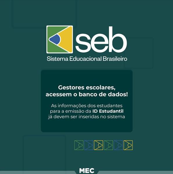 Sistema Educacional Brasileiro: representantes de instituições já podem abastecer o banco de dados nacional de estudantes