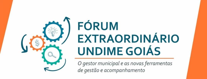 Novas ferramentas de gestão e acompanhamento da educação é tema de Fórum Extraordinário da Undime Goiás