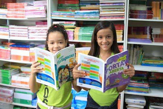 Sistema de reserva técnica de livros didáticos estará aberto para as escolas a partir do dia 24 de junho