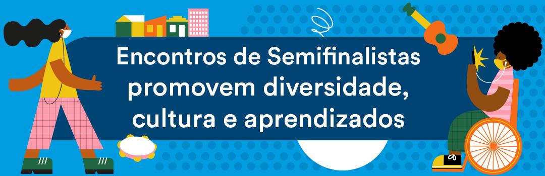 Encontros de semifinalistas da 7ª edição da Olimpíada de Língua Portuguesa promovem diversidade, cultura e aprendizados