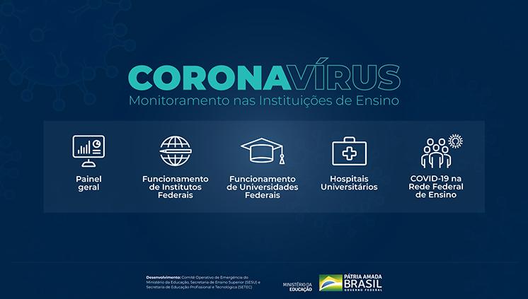 MEC lança portal de monitoramento de ações e operação das instituições de ensino durante a pandemia