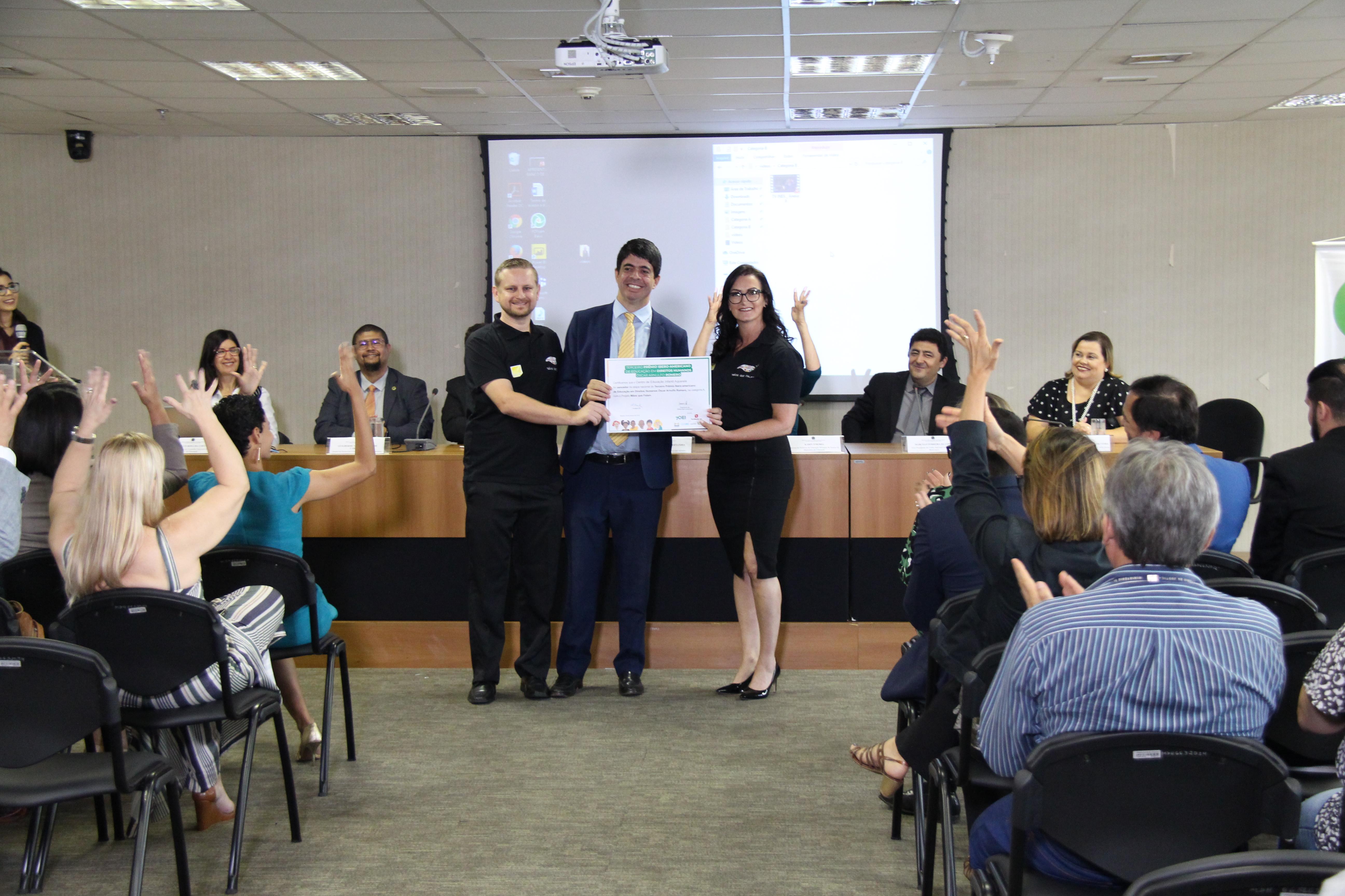 Prêmio de Educação em Direitos Humanos anuncia vencedores da etapa nacional