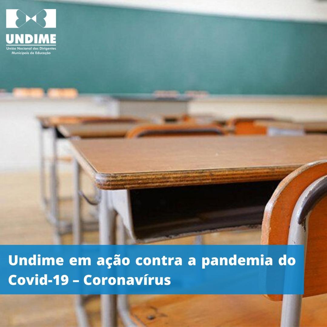 Undime em ação contra a pandemia do Covid-19 – Coronavírus
