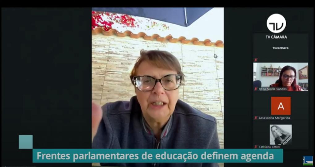 Frentes parlamentares defendem reforço orçamentário para a educação
