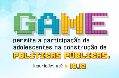 Educação Básica: jogo permite que adolescentes participem de políticas públicas