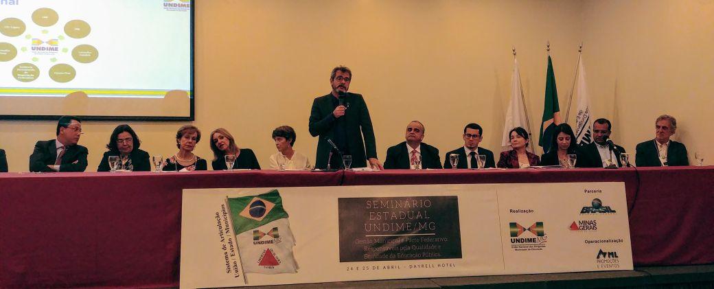 Undime Minas Gerais reúne mais de 700 pessoas em seminário estadual