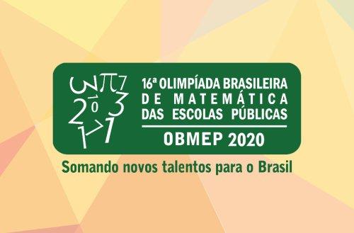 Olimpíada Brasileira de Matemática das Escolas Públicas abre inscrições nesta segunda, 10