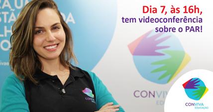 Conviva realiza videoconferência sobre o PAR na terça-feira (7)