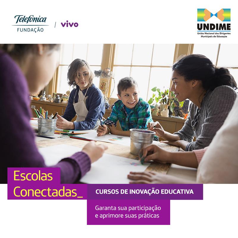 Em parceria com a Undime, Fundação Telefônica Vivo oferta vagas para cursos online