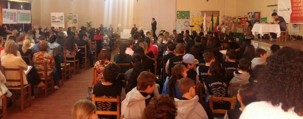 1º encontro do Ciclo de Seminário da Undime RS é realizado em São Francisco de Paula