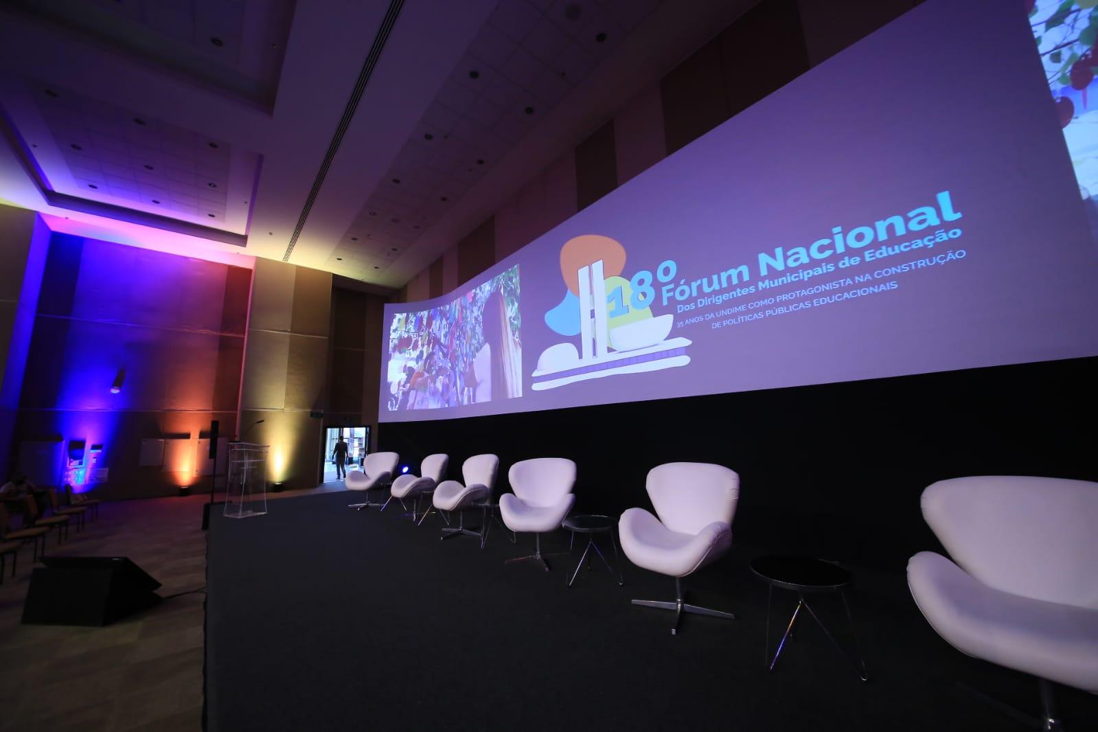 18º Fórum Nacional da Undime começa nesta quarta-feira (15)