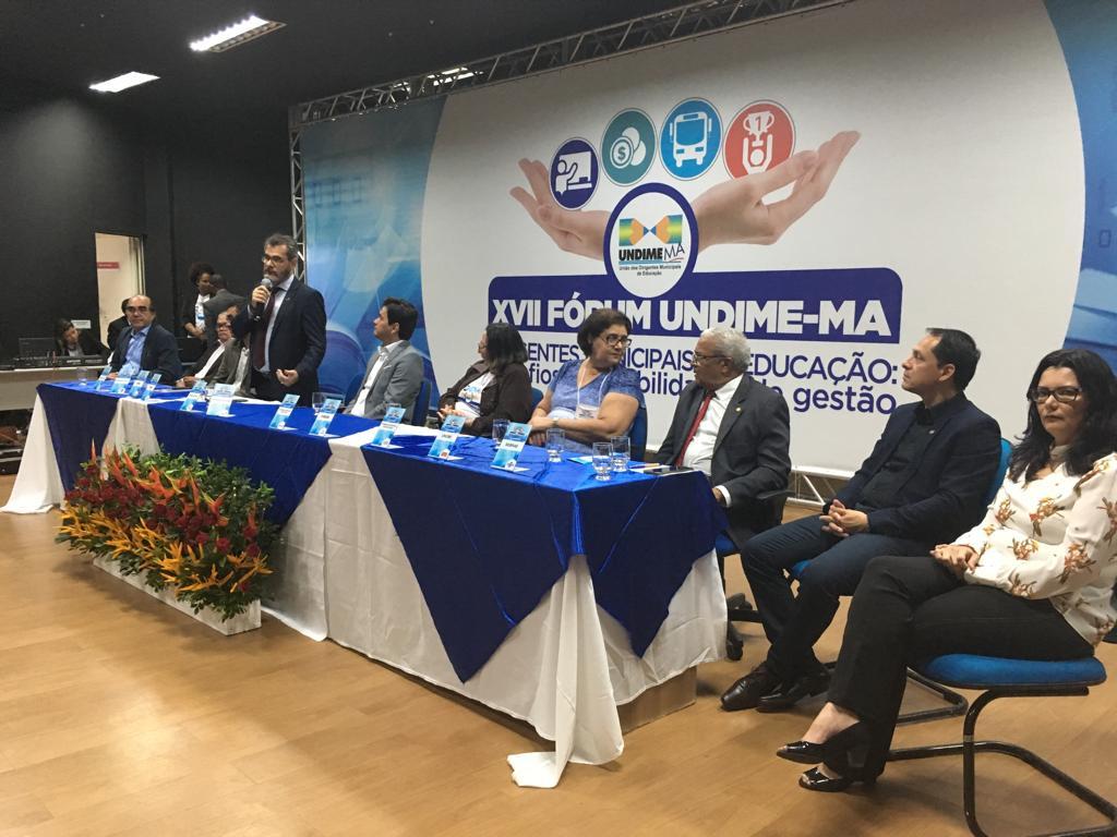 Undime Maranhão reúne mais de 300 participantes em Fórum Estadual