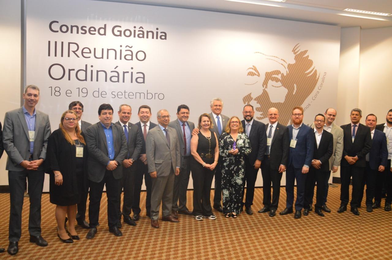 Undime participa da 3ª reunião ordinária do Consed, em Goiânia