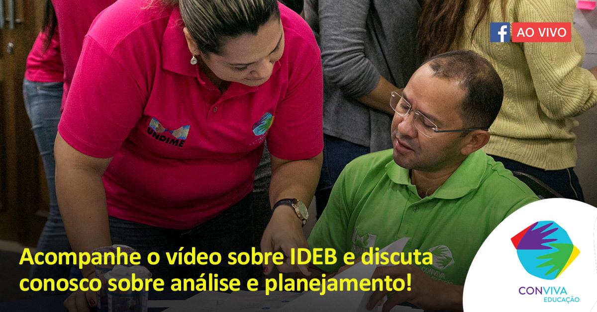Transmissão do Conviva no dia 17 debate resultados do Ideb 2017