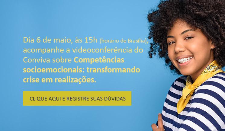 Videoconferência do Conviva vai tratar das competências socioemocionais