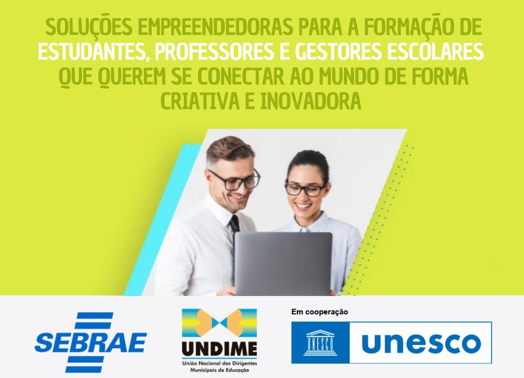 Faça a adesão de seu município ao programa Educação Empreendedora