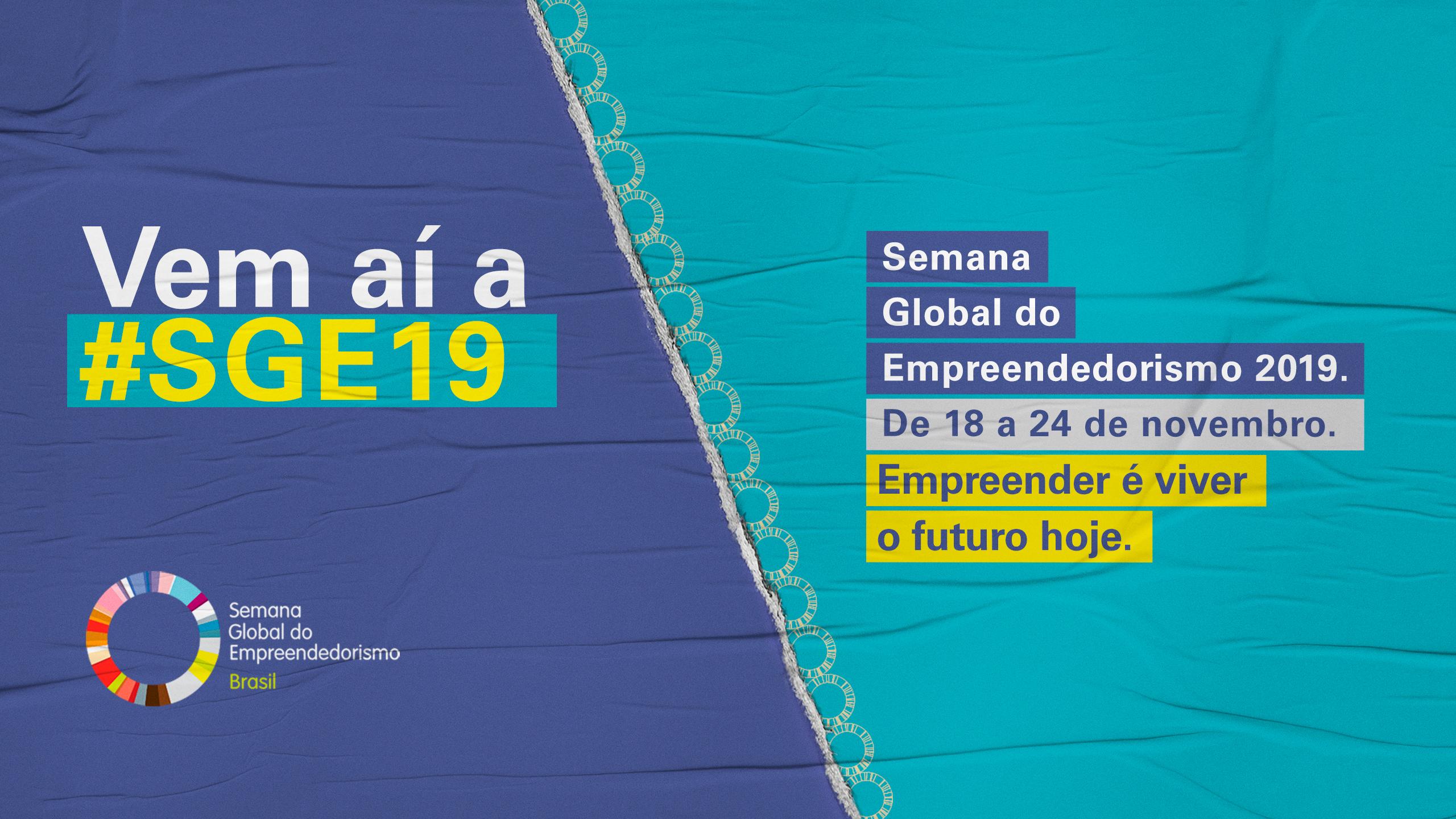 Semana Global do Empreendedorismo começa em todo o país no dia 18 de novembro