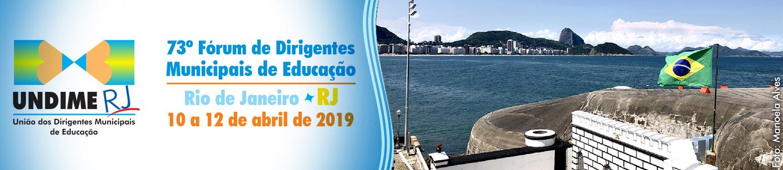 Undime Rio de Janeiro promove Fórum Estadual de 10 a 12 de abril
