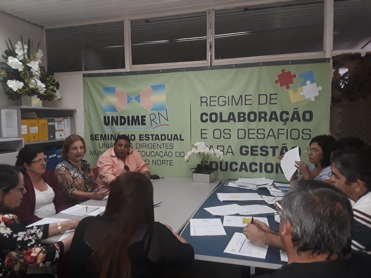 Transparência marca encontro da diretoria executiva da Undime no RN