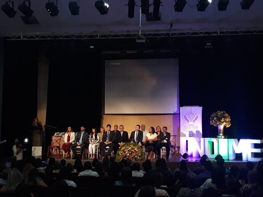Undime Piauí realiza cerimônia de entrega do Prêmio Gestor Educador