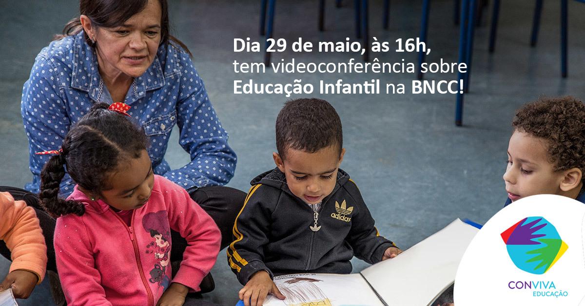 Conviva realizará videoconferência sobre a Educação Infantil na BNCC