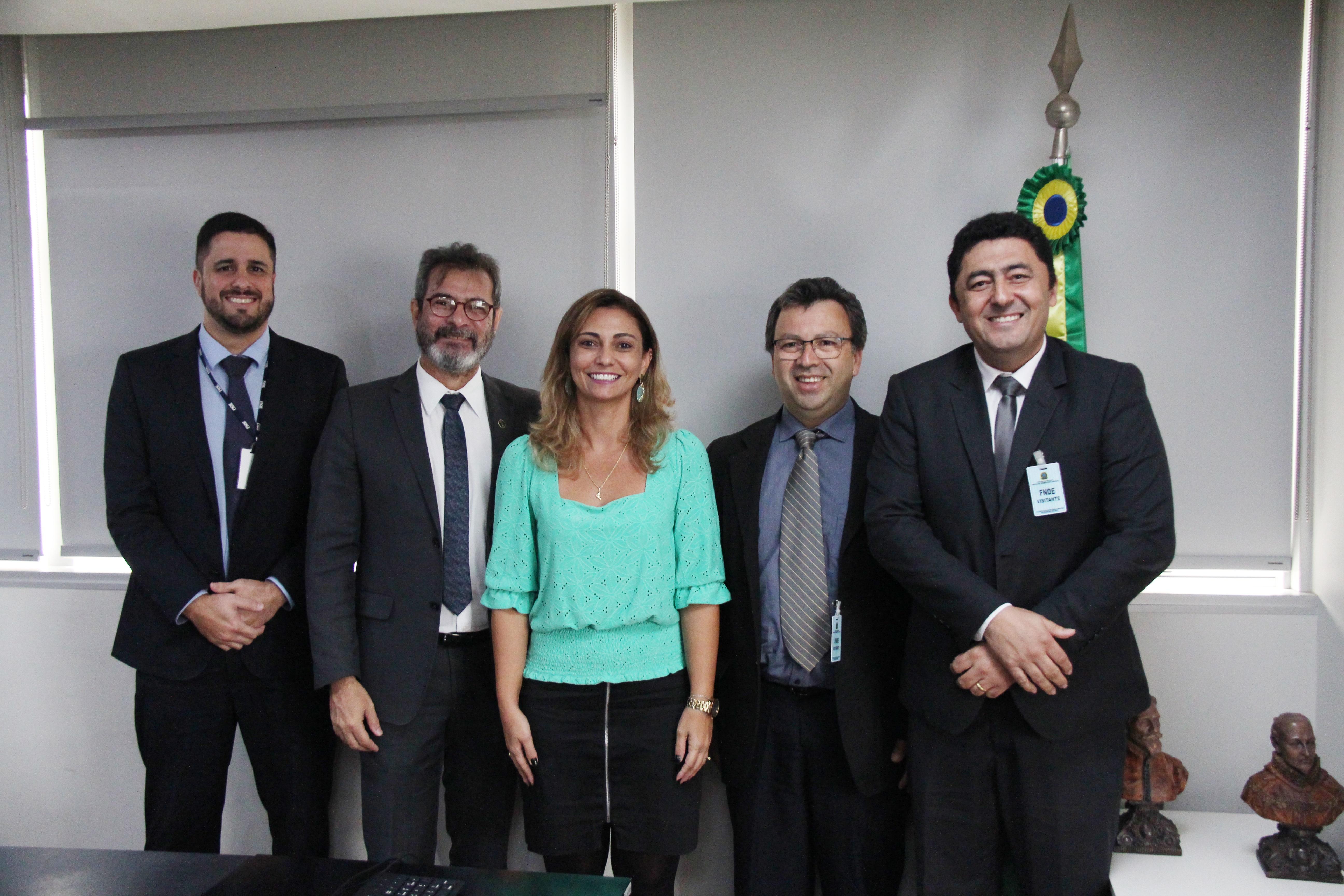 Undime participa de reunião com a nova presidente do FNDE