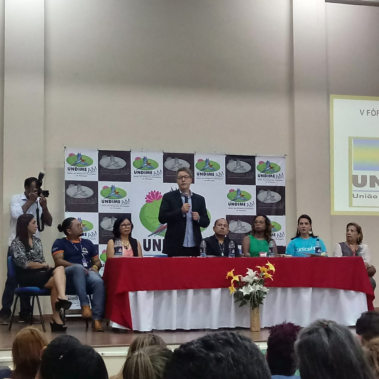 Em Manaus, Fórum da Undime Amazonas debate os desafios de promover o Regime de Colaboração e implementar políticas públicas