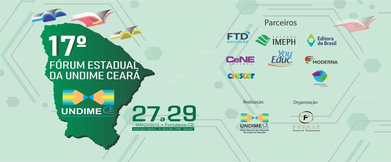 Undime Ceará realiza Fórum da Seccional de 27 a 29 de março