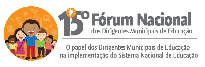 Inscrições abertas para o 15º Fórum Nacional dos Dirigentes Municipais de Educação