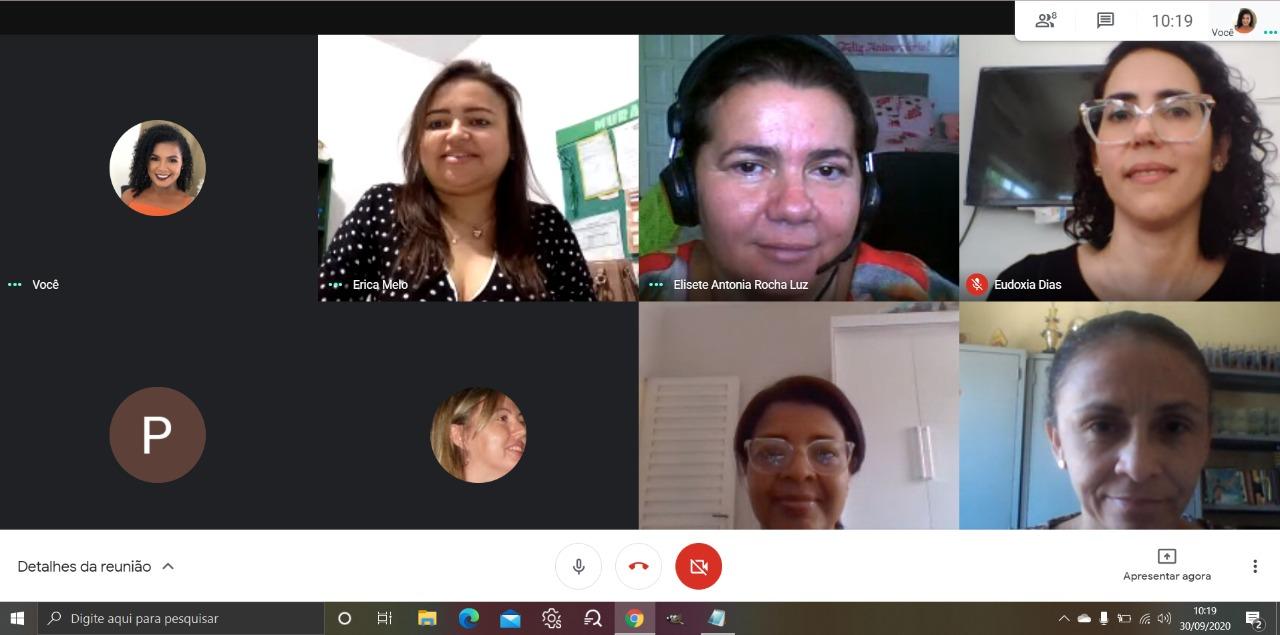 Preparação do I Fórum Virtual Extraordinário da Undime Piauí é discutida em reunião da Diretoria Executiva