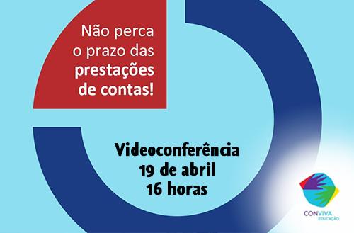 Conviva Educação realiza videoconferência sobre prestação de contas no Siope