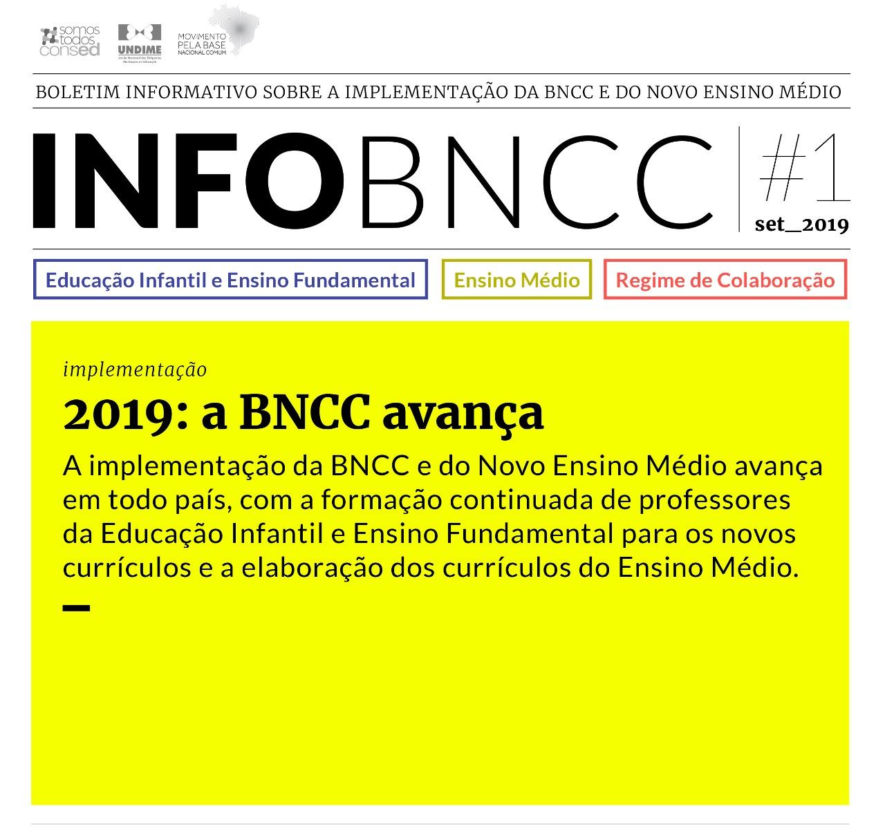 Undime e Consed lançam boletim sobre a BNCC