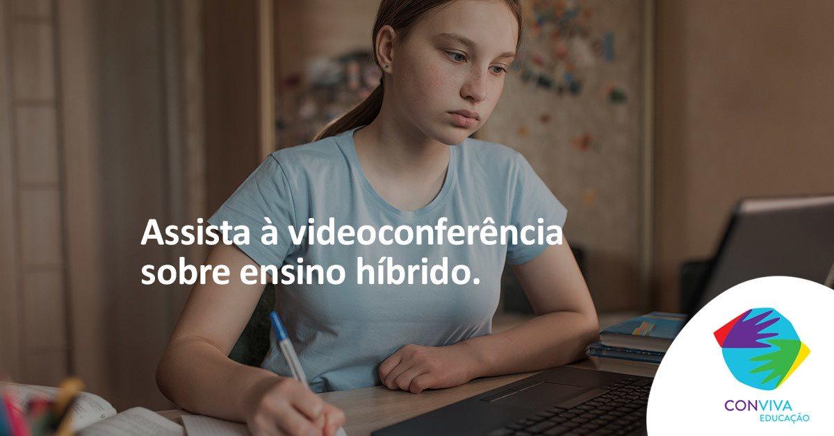 Conviva Educação promove debate sobre ensino híbrido