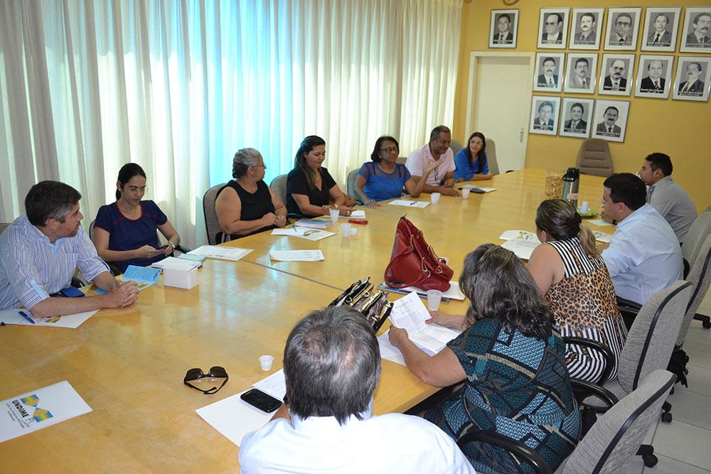 Presidenta da Undime/PI reuniu a Diretoria Executiva e Colégio Eleitoral para participarem de uma reunião extraordinária
