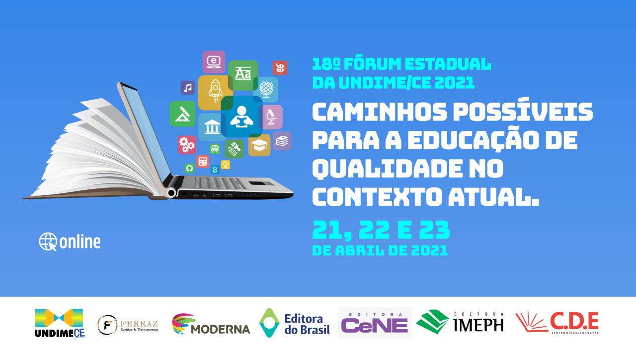 Undime Ceará abre inscrições para o 18º Fórum Estadual