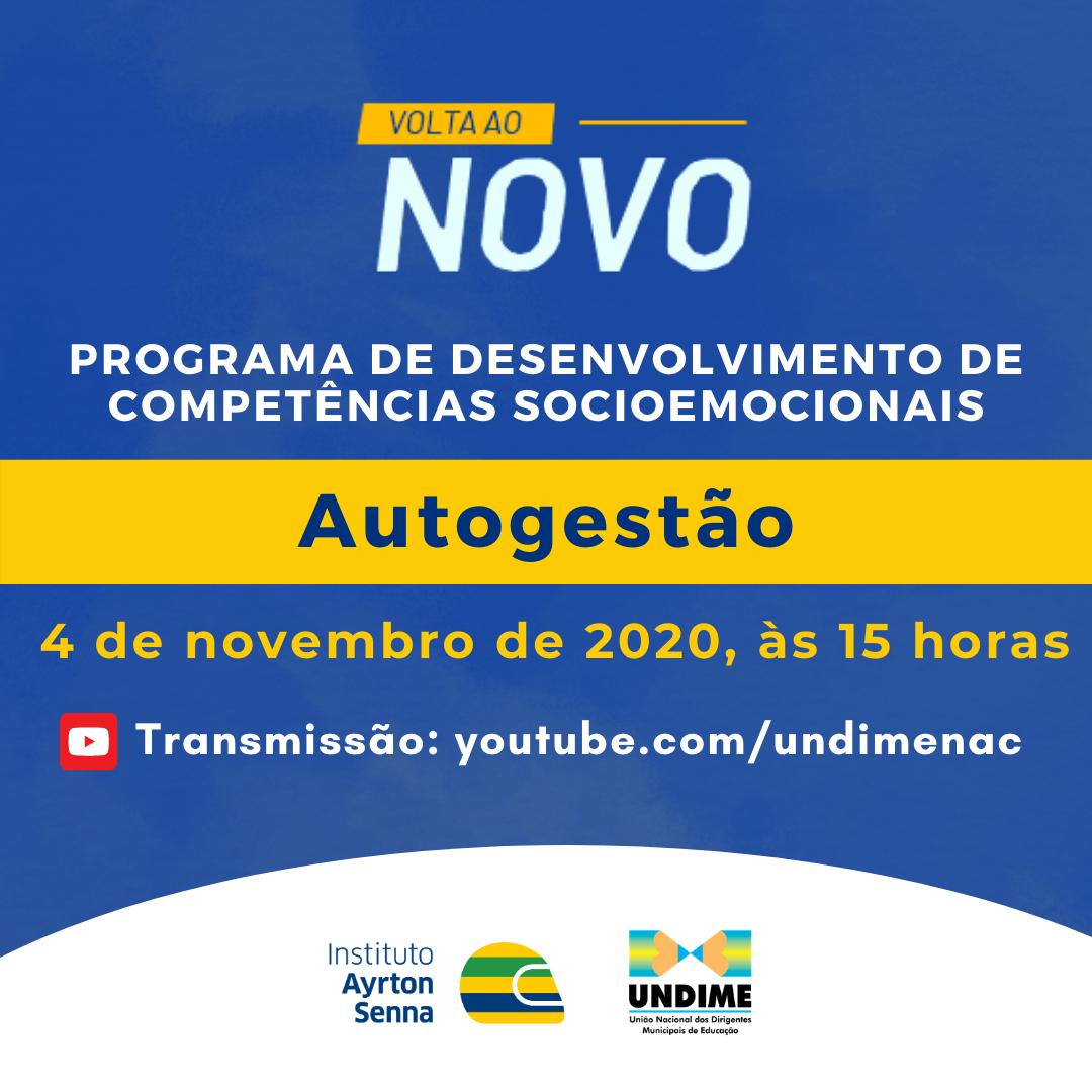 "Instituto Ayrton Senna e Undime realizam terceiro encontro da série ""Volta ao Novo"""