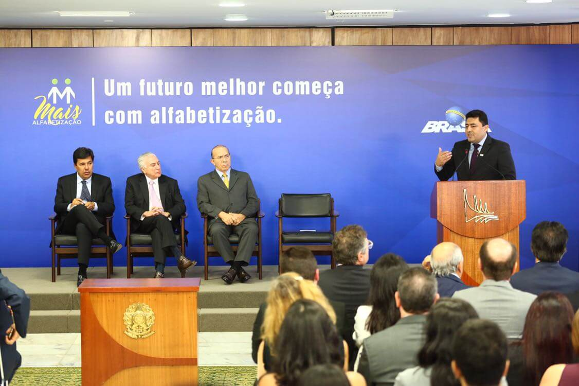 Governo federal anuncia liberação de recursos para o Programa Mais Alfabetização