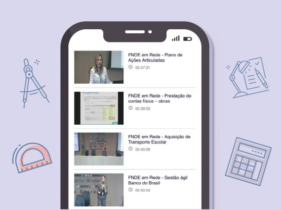 FNDE disponibiliza vídeos para auxiliar gestores e técnicos da educação pública