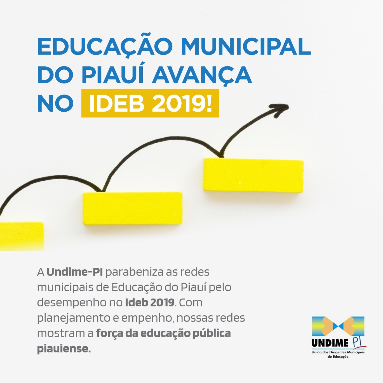 Undime-PI parabeniza redes municipais de Educação pelo resultado no Ideb