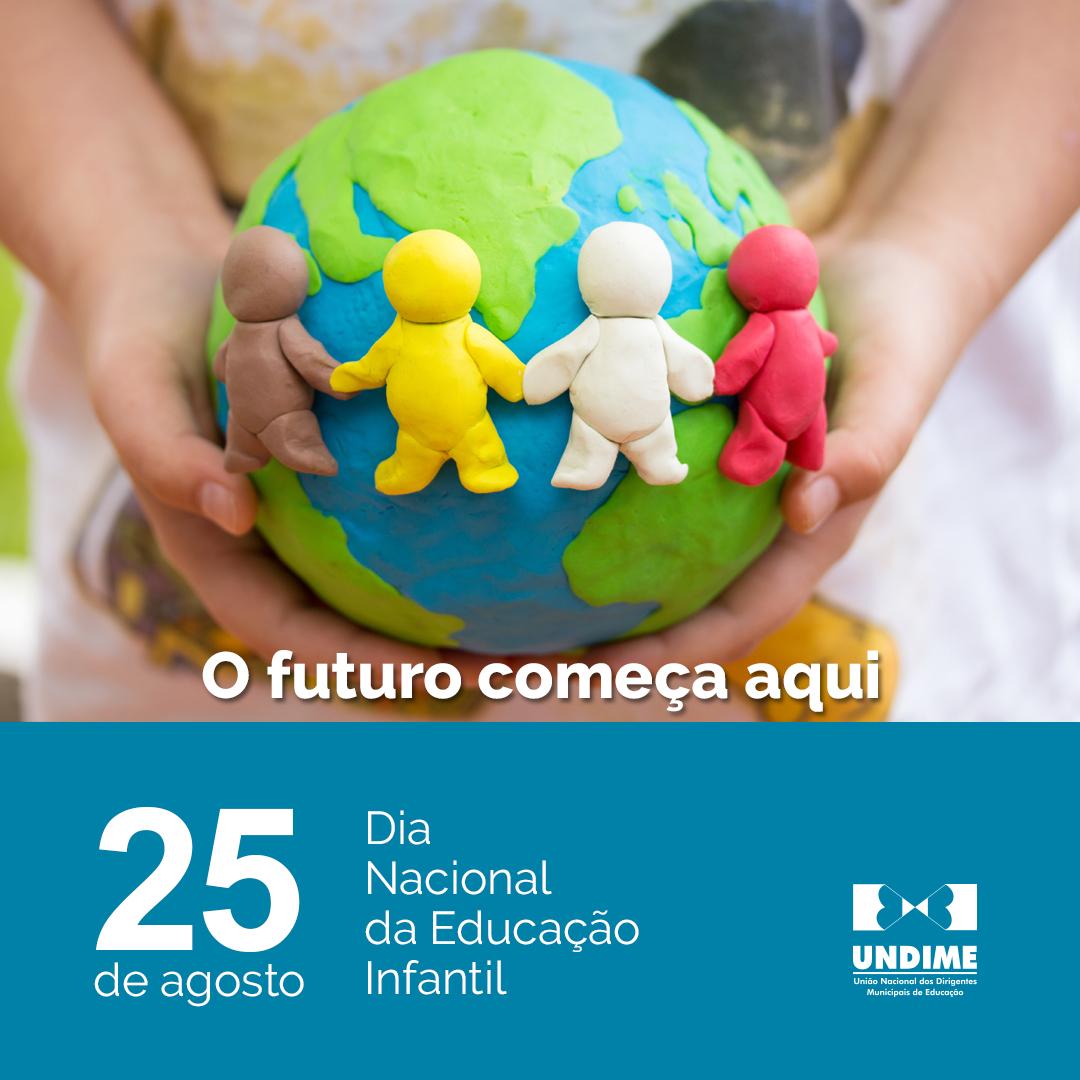 Dia 25 de agosto - Dia Nacional da Educação Infantil