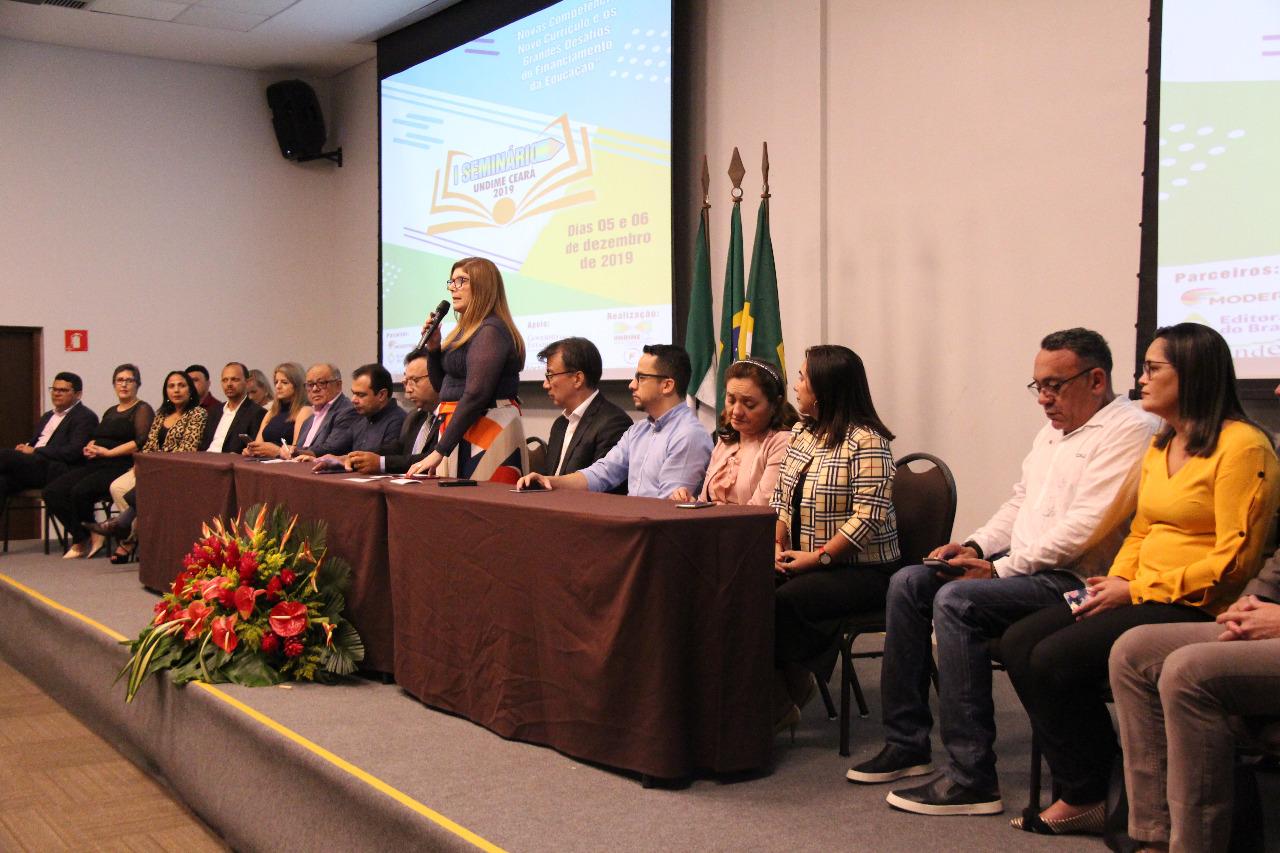 Undime Ceará debate novo currículo e os desafios do financiamento da Educação