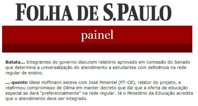 (Fonte: Folha de S. Paulo)
