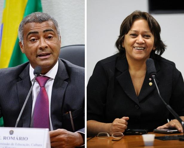 O senador Romário é o novo presidente da Comissão de Educação, Cultura e Esporte (CE) do Senado. A senadora Fátima Bezerra é a vice-presidente.